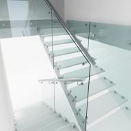 Визуализация стеклянной лестницы.