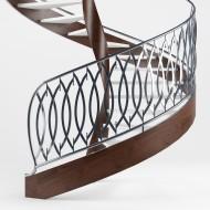 Проект лестницы с ограждением из нержавеющей стали